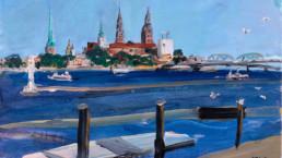08-Charles-David-Kelley-Riga-Skyline-From-Kipsala-FERGUSON