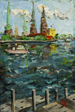 11-Charles-David-Kelley-Mini-Skyline-of-Riga