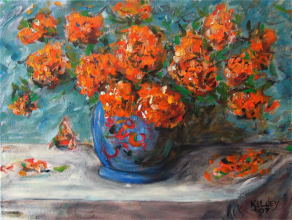 Charles-David-Kelley-Orange Feeling